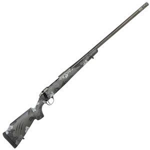 "Fierce Firearms CT Edge .300 PRC Bolt Action Rifle 24"" Carbon Fiber Barrel 4 Rounds Titanium Action Carbon Fiber Monte Carlo Stock Phantom/Gray Finish"