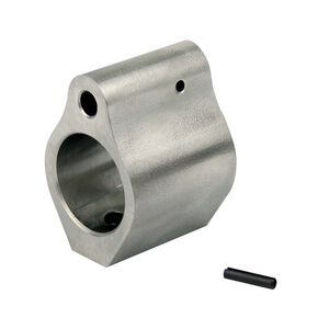 TacFire AR .750 Micro Low Profile Gas Block Stainless Steel MAR001-SS750