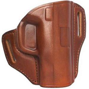 Bianchi Model 57 Remedy GLOCK 19, 23, 32 Belt Holster Right Hand Leather Tan 25020