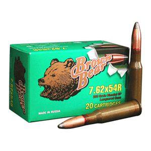 Brown Bear 7.62x54R 203 Grain Bi-Metal SP 20 Round Box
