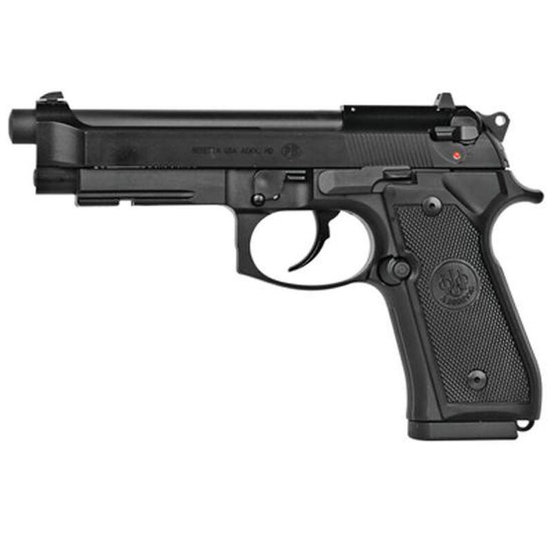"Beretta M9A1_22 .22LR Semi Auto Pistol 4.9"" Barrel 15 Rounds with Rail, Black"