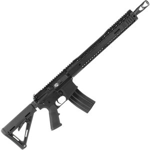 "Black Rain BRO SPEC15 AR15 Semi Auto Rifle .458 SOCOM 16"" Barrel 10 Rounds 15"" M-LOK Hybrid Handguard Magpul MOE Collapsible Stock Black Finish"