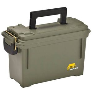 Plano Ammo Can Waterproof Rubber Seal Plastic OD Green 1312-00