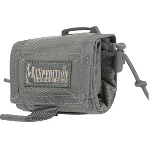 Maxpedition Rollypoly MM Folding Dump Pouch MOLLE Nylon Foliage Green