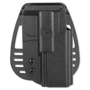 Uncle Mike's Kydex GLOCK 17, 19, 22, 23, 31, 32 Paddle Holster Right Hand Kydex Black 54211
