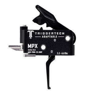 TriggerTech Sig MPX Adaptable Two-Stage Drop-In Flat Trigger Black PVD Finish