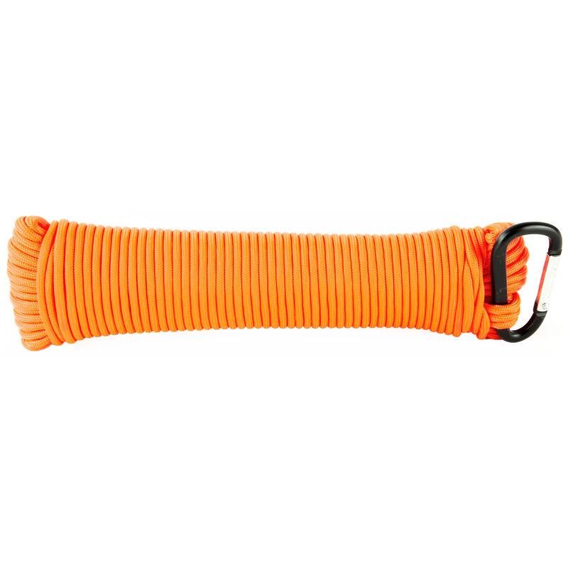 Ultimate Survival Technologies Paracord 100' 550lb Test 100% Nylon Orange Finish