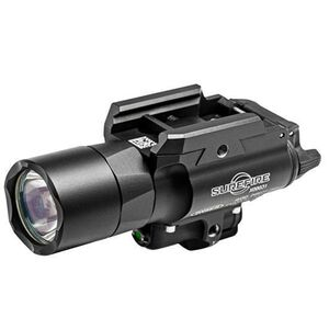 SureFire X400 Ultra LED WeaponLight and Red Laser Sight 500 Lumens Black X400U-A-RD