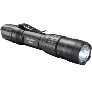 Pelican 7600 Tactical Flashlight 900 Lumens Led Rechargeable Tail Switch Black 076000-0000-110