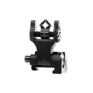 Troy Industries BattleSight Rear Folding Sight Di-Optic Aperture Black SSIG-DOA-RFBT-00
