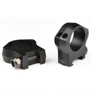 Warne Mountain Tech Weaver/Picatinny Ring 35mm Ultra-High Height Aluminum Matte Black