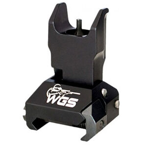 Williams AR-15 Tactical Folding Front Sight Picatinny Rail Compatible Aluminum Matte Black