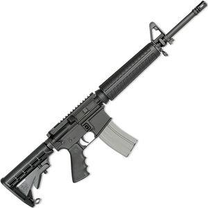 "Rock River LAR-15 Elite CAR A4 5.56 NATO AR-15 Semi Auto Rifle 16"" Barrel 30 Rounds Mid-Length Handguard Collapsible Stock Black Finish"