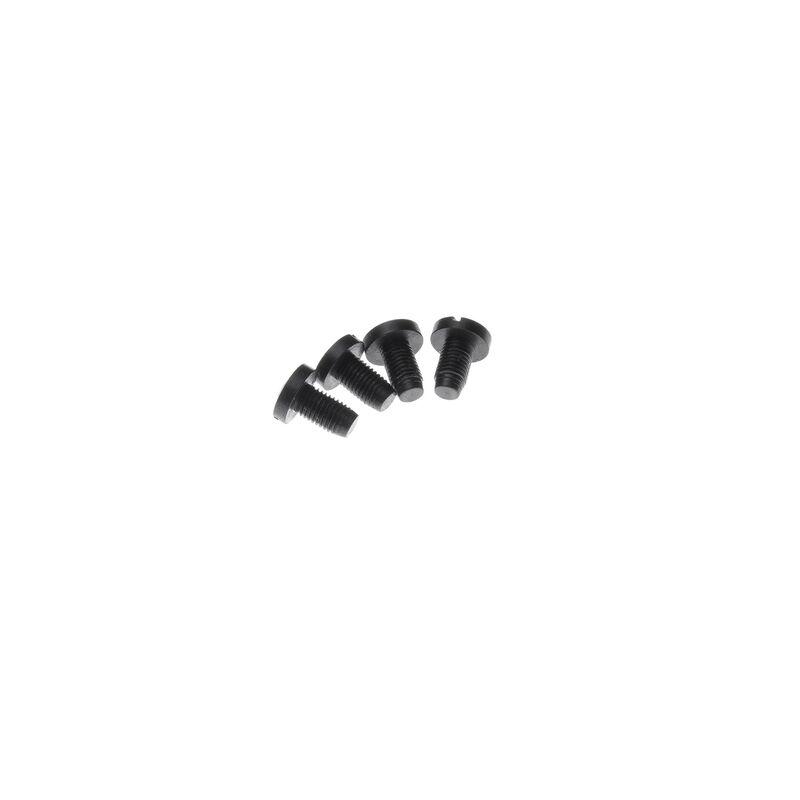 Nighthawk Custom Slotted Head Grip Screws Steel Blued 4 Pack