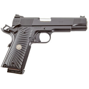 "Wilson Combat CQB 1911 Semi Automatic Handgun 9mm Luger 5"" Barrel 10 Rounds Starburst G10 Grips Armor Tuff Black Finish"