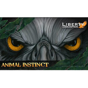 Liberty Animal Instinct .30-06 Spring Ammunition 20 Rounds 100 Grain Lead Free Copper HP 3500 fps