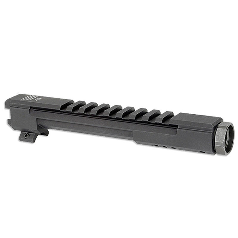 Midwest Industries AK-47 Railed Gas Tube Standard AK-47 Picatinny Rail Lower 1/3 Co-Witness 6061 Aluminum Matte Black