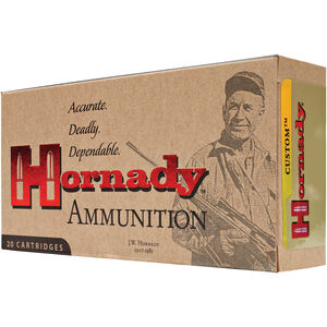 Hornady Custom 275 Rigby 140 Grain Interlock SP 20 Rounds