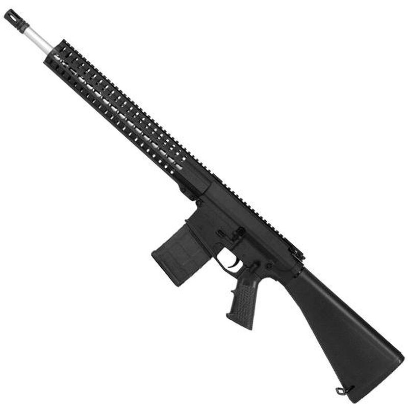 "CMMG Mk3 Semi Auto Rifle .308 Win 18"" Stainless Steel Barrel 20 Rounds Fixed A1 Stock KeyMod Handguard Black 38ACC76"