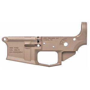 Aero Precision AR-15 M4E1 Stripped Lower Receiver .223/5.56 Billet Aesthetics/Forged 7075-T6 Aluminum Cerakote Flat Dark Earth Finish