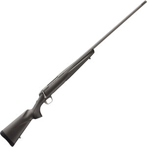 "Browning X-Bolt Pro Tungsten .30 Nosler Bolt Action Rifle 26"" Threaded Barrel 3 Rounds Composite Carbon Fiber Stock Tungsten Cerakote Finish"
