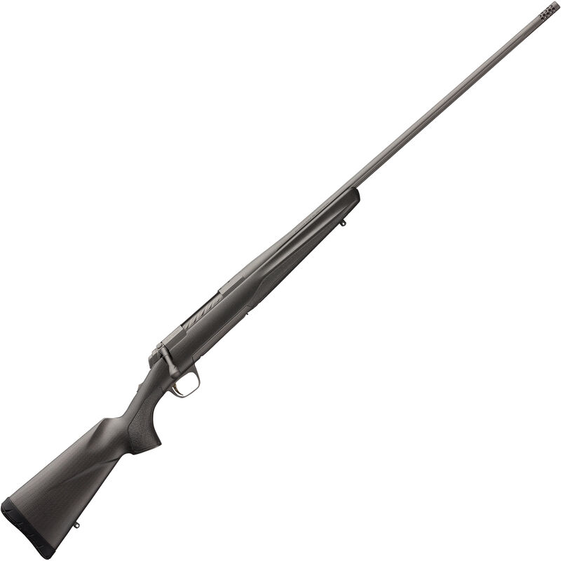 "Browning X-Bolt Pro Tungsten .30 Nosler Bolt Action Rifle 26"" Threaded Barrel 3 Rounds Composite Carbon Fiber Stock Tungsten Cerakote Finish"