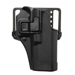 BLACKHAWK! SERPA CQC Belt/Paddle Holster For GLOCK 17/22/31 Right Hand Polymer Black 410500BK-R