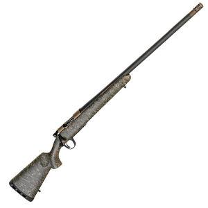 "Christensen Arms Ridgeline .28 Nosler Bolt Action Rifle 26"" Threaded Barrel 3 Rounds Carbon Fiber Composite Sporter Stock Burnt Bronze/Carbon Fiber Finish"