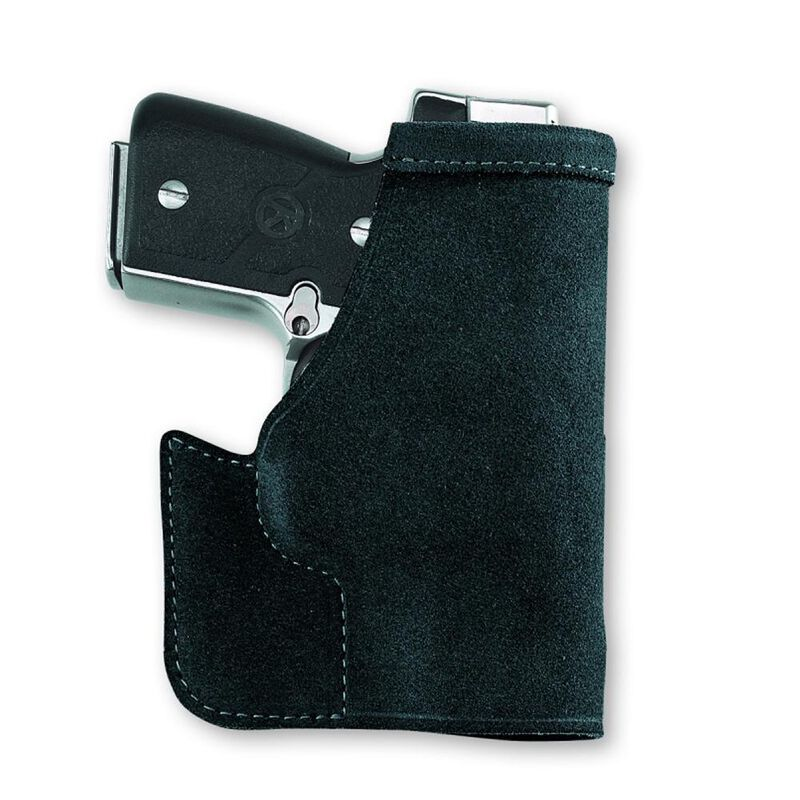 Galco Pocket Protector Pocket Holster For 26/27/33 Ambidextrous Leather Black PRO286B