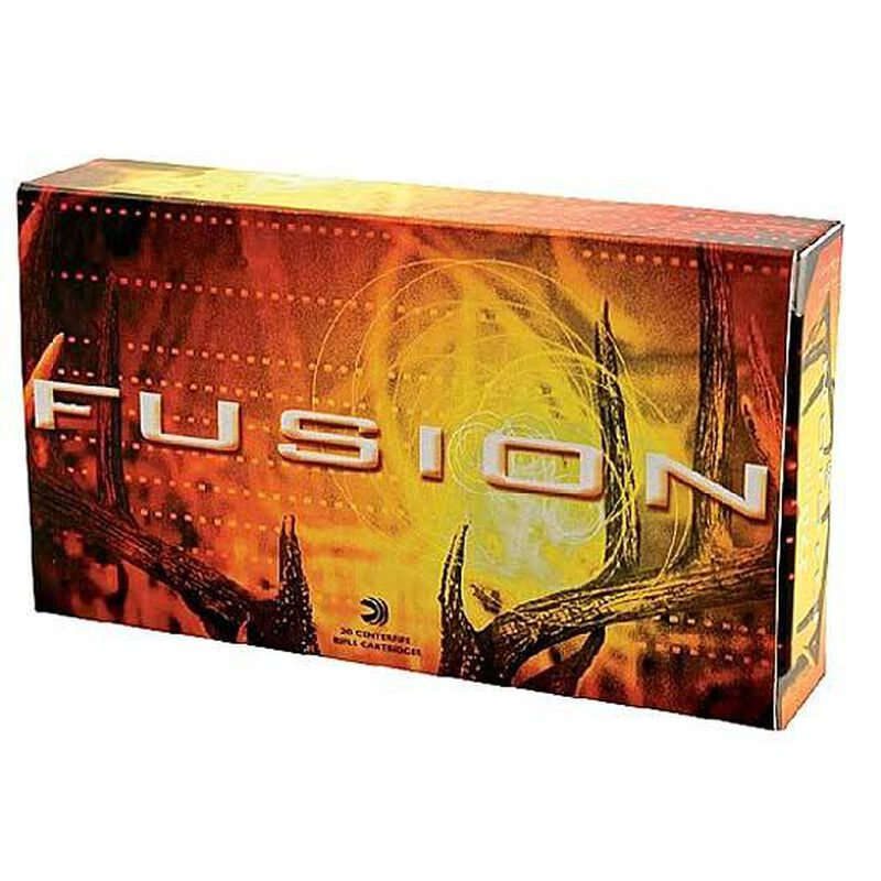 Federal Fusion 7mm Winchester Short Magnum Bonded Spitzer Boat Tail, 150 Grain, 3100 fps, 20 Round Box, F7WSMFS1