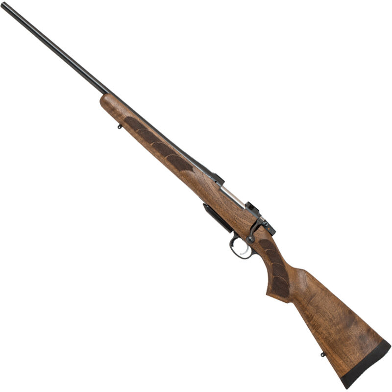 "CZ USA CZ 557 Left Hand Bolt Action Rifle .308 Winchester 24"" Barrel 4 Rounds Turkish Walnut Stock Blued"