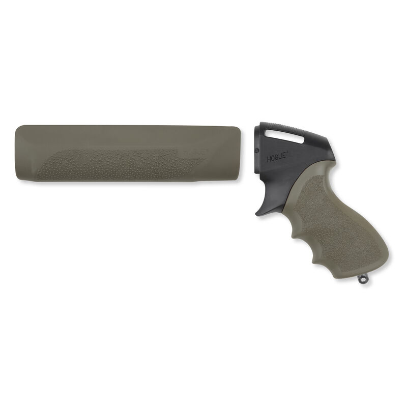 Hogue Tamer Remington 870 Pistol Grip/Forend OverMolded OD Green 08115