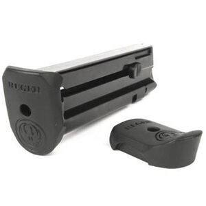 Ruger SR22 Magazine 10 Rounds .22 Long Rifle Steel Construction Flat/Extended Polymer Floor Plate Blued Finish