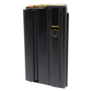 C-Products Defense Duramag AR-15 20 Round Magazine .223 Remington/5.56 NATO No Tilt Follower Stainless Steel Black