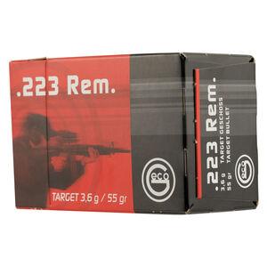 GECO .223 Remington Ammunition 50 Rounds 55 Grain Full Metal Jacket