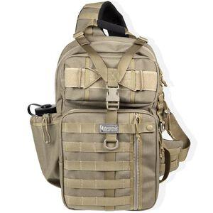 "Maxpedition Gearslinger Kodiak Backpack 17""x10""x4"" Nylon Khaki"