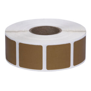 """Action Target Square Target Pasters Roll of 1000 7/8"""" Cardboard"""