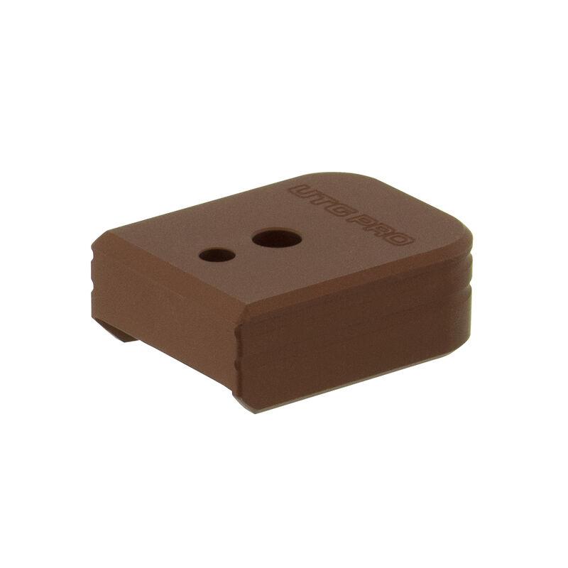 UTG PRO +0 Base Pad, S&W M&P 9/40, Matte Bronze Aluminum