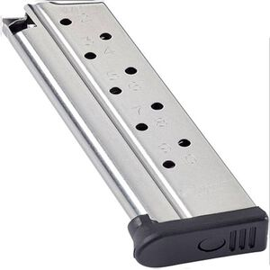 Chip McCormic 1911 Range Pro 9mm Magazine 10 Rounds, Stainless