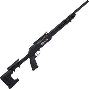 "Savage A22 Precision .22 LR Semi Automatic Rimfire Rifle 18"" Heavy Threaded Barrel 10 Rounds with Picatinny Rail Aluminum  MDT Chassis Black Finish"