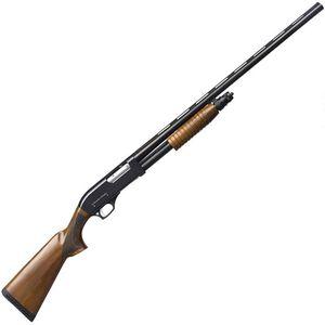 "Charles Daly 301 Field 12 Gauge Pump Action Shotgun 28"" Barrel 3"" Chamber 5 Rounds Wood Stock Black"