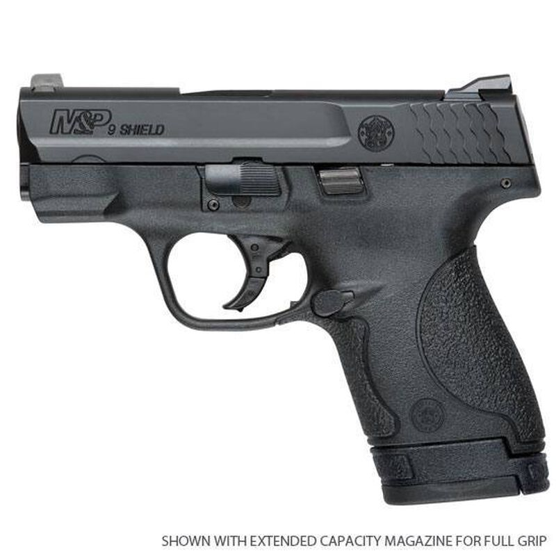 """Smith & Wesson M&P Shield Semi-Auto 9mm 3.1"""" Barrel 7 Rounds No External Safety Polymer Frame Black 10035"""