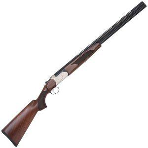 "Mossberg Silver Reserve II Field O/U Shotgun 20 Gauge 26"" Vent Rib Barrels 3"" Chamber Silver Engraved Receiver Walnut Stock 5 Chokes 75414"