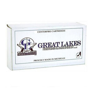 Great Lakes Ammunition .45 Colt Ammunition 20 Rounds XTP HP 250 Grains Remanufactured A687078