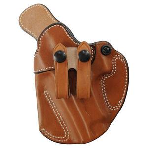"""DeSantis Cozy Partner IWB Holster S&W J Frame 2"""" Left Hand Leather Tan 028TB02Z0"""