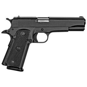 "Rock Island Armory GI Standard Full Size 1911-A2 Semi Auto Pistol .45 ACP 5"" Barrel 10 Rounds Polymer Grip Steel Frame/Slide Parkerized Finish"