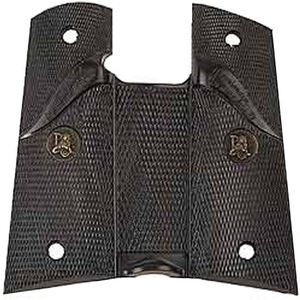 Pachmayr Signature Grip 1911 Compact Checkered Rubber Black 02545