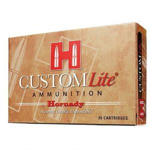 Hornady Custom Lite .270 Winchester Ammunition 20 Rounds SST 120 Grains 80526