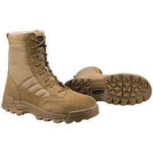"Original S.W.A.T. Classic 9"" Men's Boot Size 10 Regular Non-Marking Sole Leather/Nylon Coyote 115003-10"