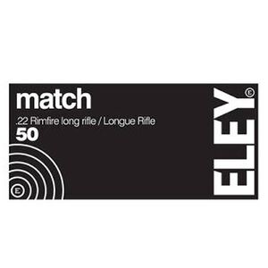 Eley Match .22 LR 40 Grain Flat Nose 50 Round Box